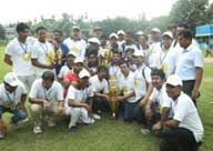 Photo of Election Officer on Cricket Match image 3